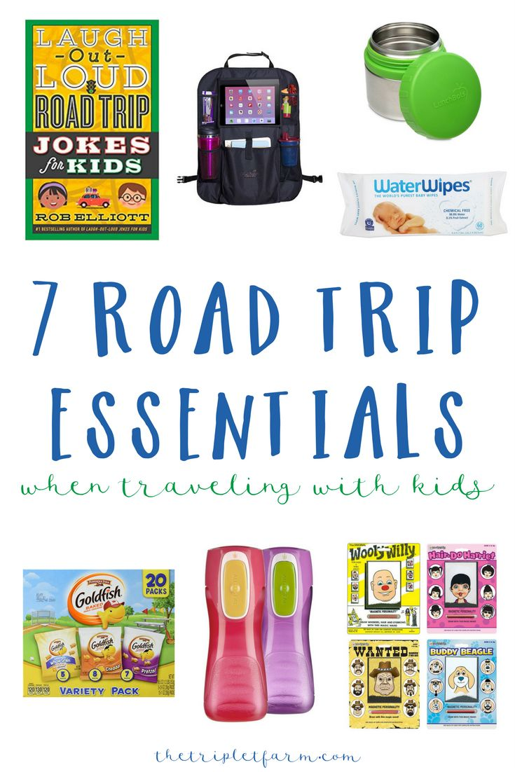 7 Summer Road Trip Essentials | When Traveling with Kids http://thetripletfarm.com/2017/07/03/7-summer-road-trip-essentials-kids/  In less than 3 weeks my family and I are hitting the road for yet another long road trip to the South. This time, to Gulf Shores, Alabama. I have learned from our last trek that there are items that are absolutely necessary to make it through a what seems like a never-ending car ride with kids.  Ear plugs are number one on my list. Here are 7 more road trip…