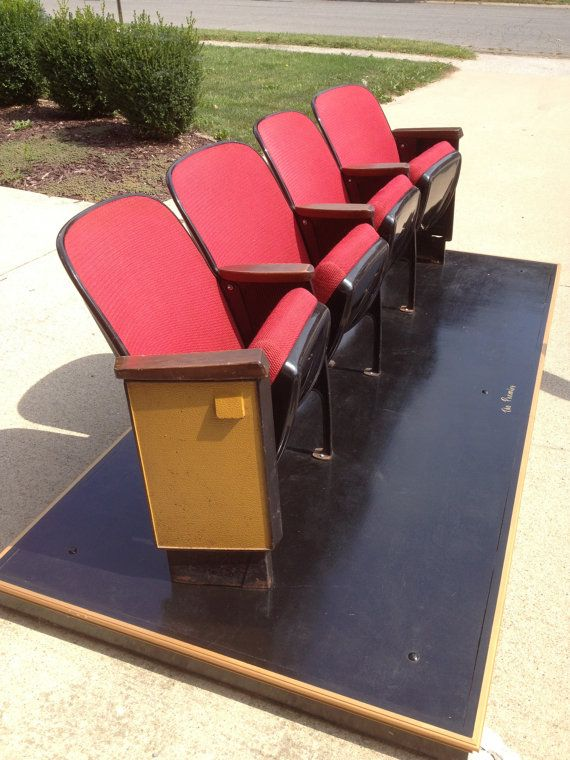 27 Best Images About Vintage Theater Seats On Pinterest Theater Architectural Salvage And