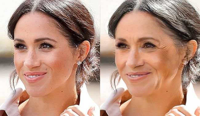 see what duchess kate and meghan markle will look like when they are 60 the results are amazing kate kate and meghan meghan markle see what duchess kate and meghan markle
