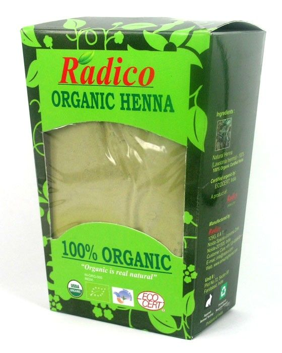 India's Only Certified 100% Organic Henna.