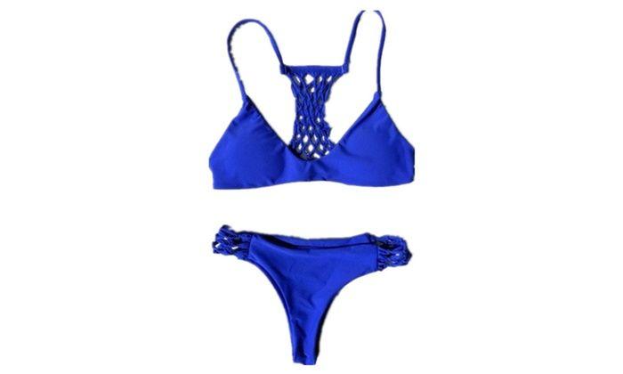 Pure Ocean Blue Bikini Set