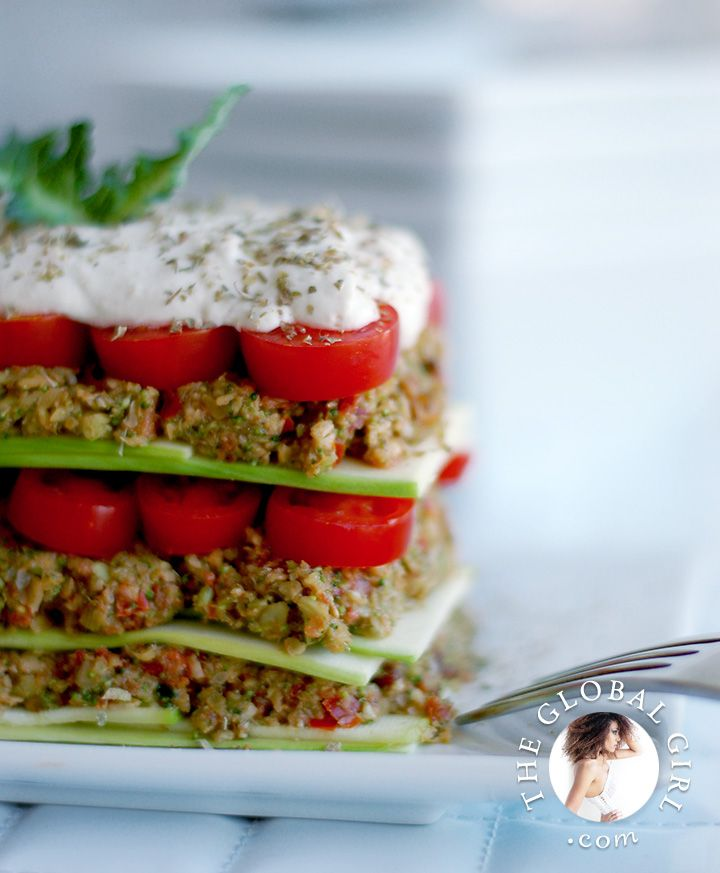 15 best raw vegan italian recipes images on pinterest raw food theglobalgirl raw italian recipes skin boosting lasagna with hearty pumpkin seed pesto forumfinder Gallery