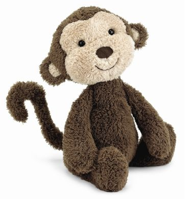 WITTLE MONKEY! Jellycat Nugget Monkey