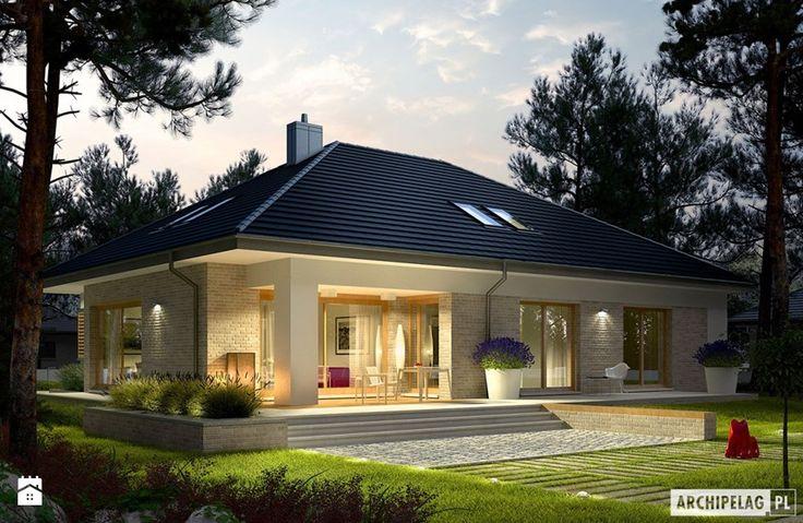 Projekt domu Marcel IV G2 - zdjęcie od Pracownia Projektowa ARCHIPELAG