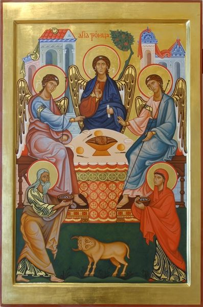 Icon of Holy Trinity. 2010