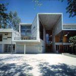 Facultad de Matematicas (architect: Alejandro Aravena 1999)