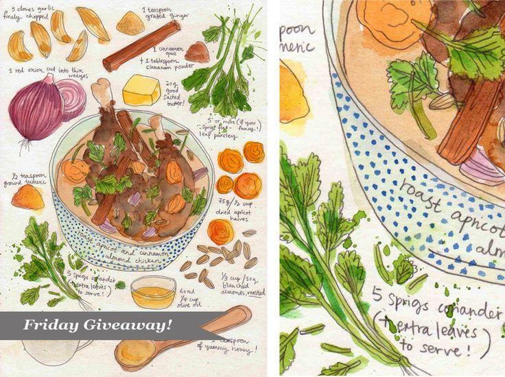 Dishes, vegetables. Dawn Tan