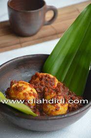 Diah Didi's Kitchen: Telur Bumbu Bali