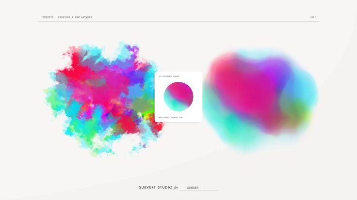 GRAPHIC //SONDER IDENTITY (rebranding), by Subvert Studio, 2017