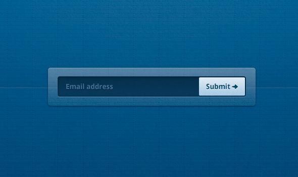 email capture sign up form - ui design