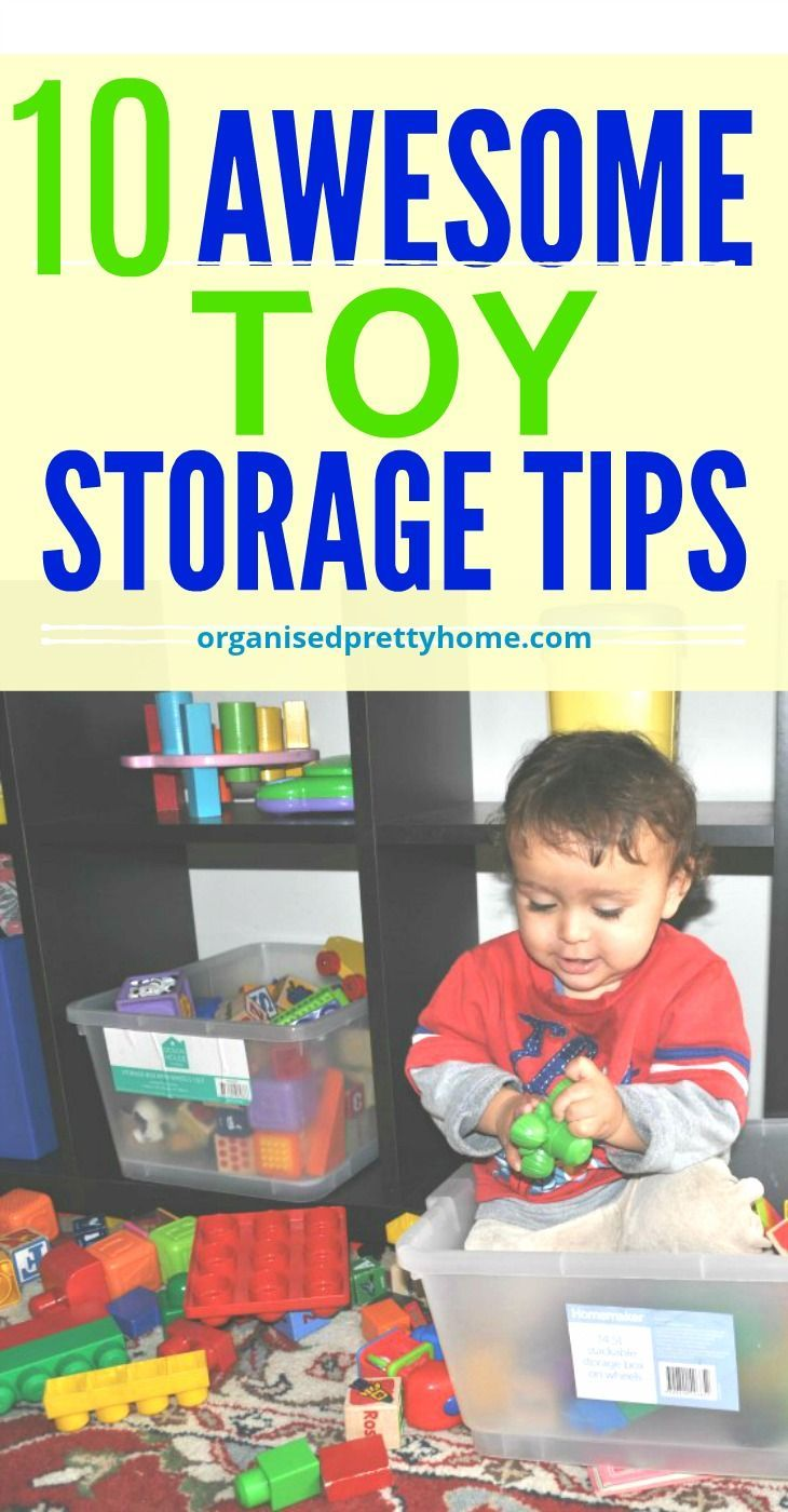 How To Organize Kids Toys Toys Toys Toys Pinterest Kids