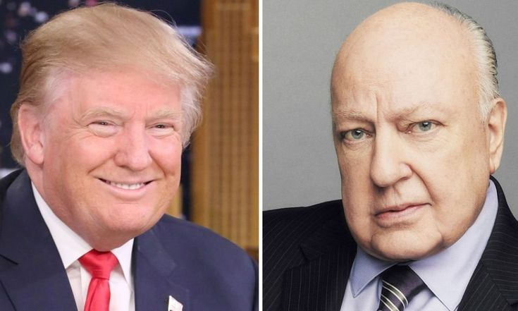 Trump Just Defended FOX's Serial Sexual Harraser Roger Ailes.  Yeah, Trump say Ailes helped those women.  Just like Trump 'helped' those women he raped?