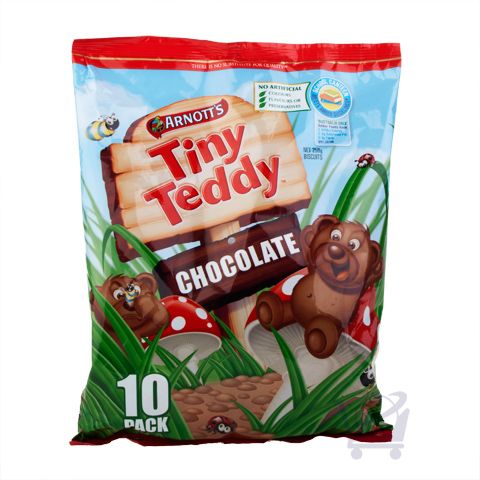 Tiny Teddy Chocolate ( Pack of 10) – Arnott's – 250g  | Shop Australia