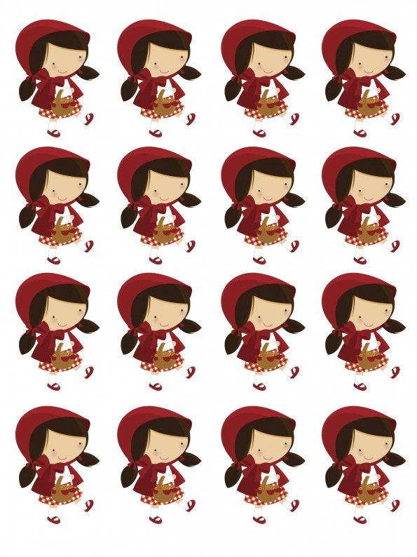 kit digital para imprimir chapeuzinho vermelho