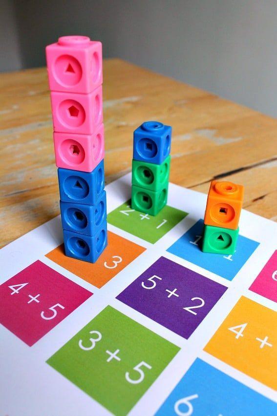 Excursions mathématiques – activités d'addition de blocs d'unités imprimables