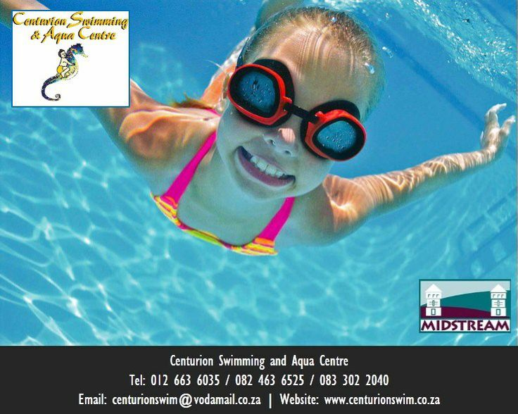 Centurion Swimming School and Aqua Centre  provides lessons in swimming at the Midlands Indoor Swimming Pool in Midlands, Centurion, South Africa