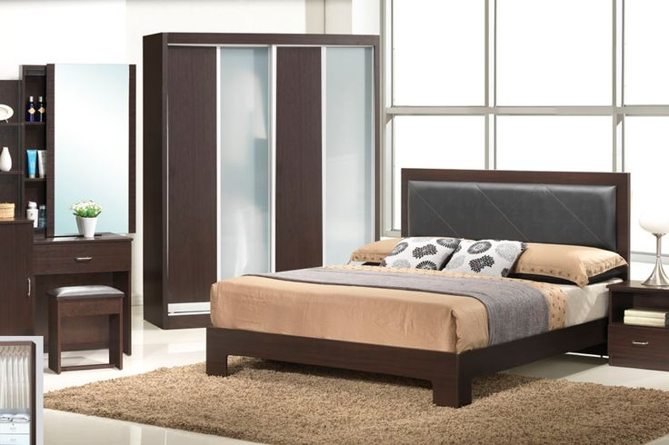 The Arizona Bedroom Set Description: Specially designed, sleek and classy, the Arizona bedroom set was design to its finest lines.