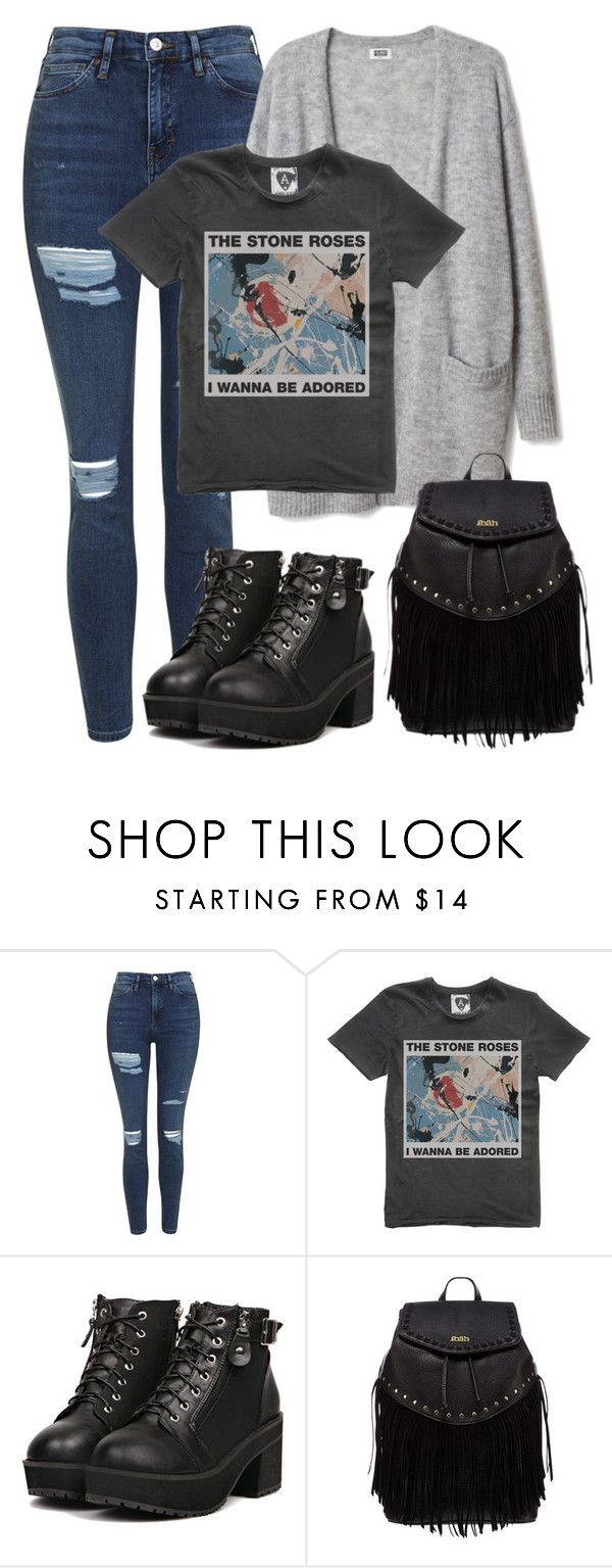 """School inspired outfit - iKon // Jinhwan"" by berrie95 on Polyvore featuring Topshop, Lipsy, ikon and jinhwan"