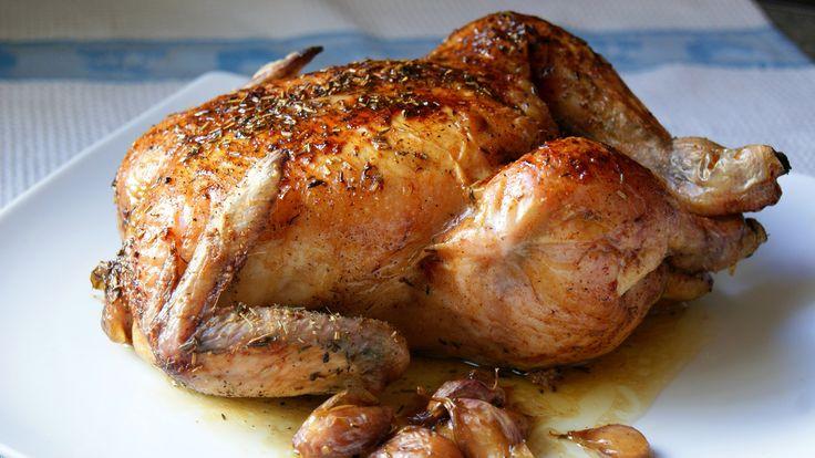 Los platos del Sueko: Pollo asado.