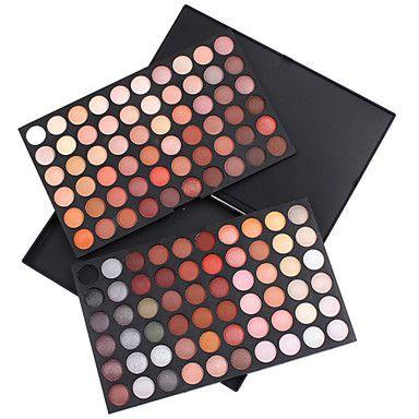 120 kleuren oogschaduw palet (warme kleur-serie) – EUR € 18.14