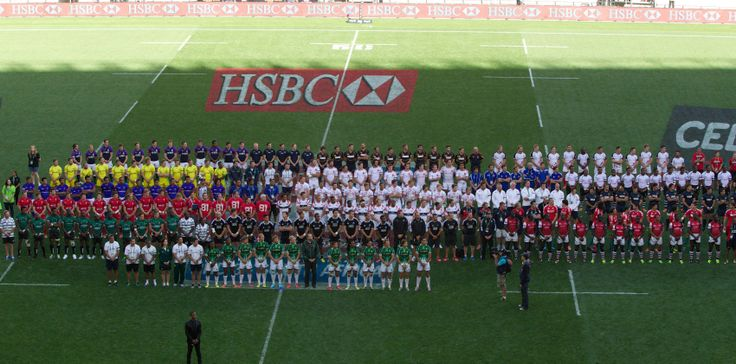 It was the outstanding impression of the 1st day at the IRB Sevens World Series in Port Elizabeth, South Africa. The 16 teams of the South African Sevens pay tribute to Nelson Mandela. We got a summary of all today's action for you on our website: http://7bamboosrugby.com/news-2/7s-rugby/ Photo courtesy of Martin Seras Lima (irbsevens)