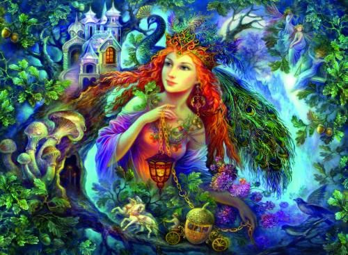 Fairy World No 1 Fairy of the Forest Jigsaw | Hobby Warehouse