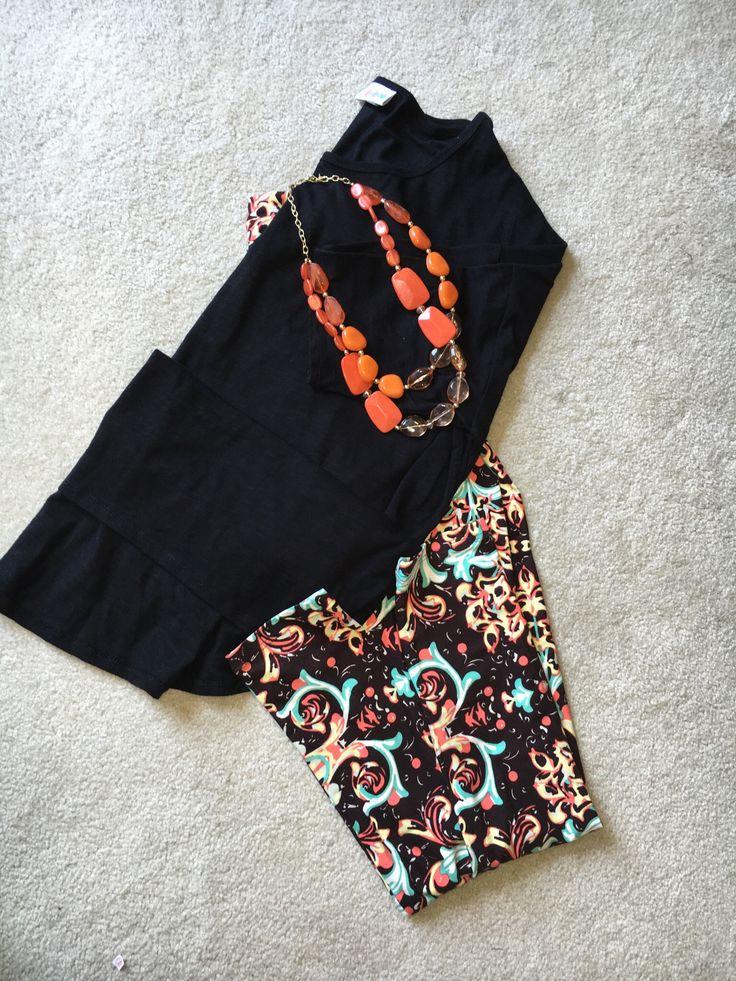 LuLaRoe Irma tunic and leggings