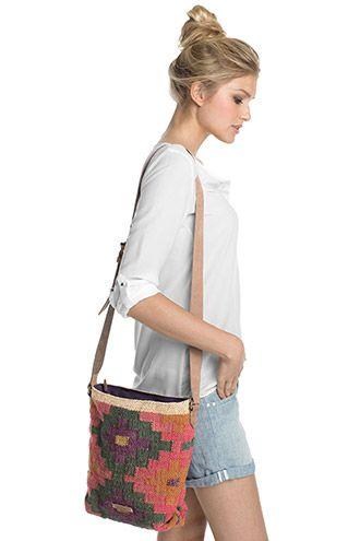 Esprit / Gedessineerde schoudertas