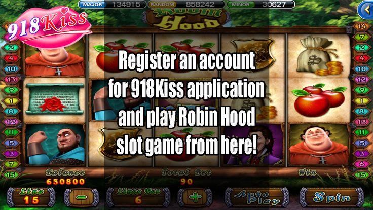 918kiss robin hood slot game slots games best online