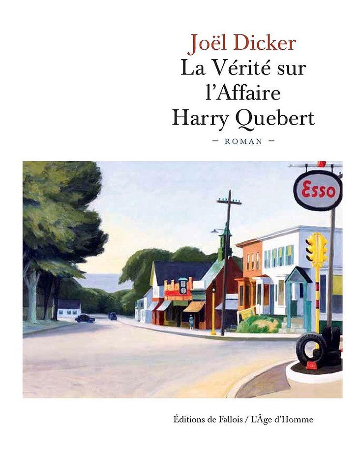 « La Vérité sur l'affaire Harry Quebert » de Joël Dicker : L'intrigue nous tient en haleine jusqu'au bout. Difficile de poser le livre avant de l'avoir fini. De belles phrases, en introduction des différents chapitres, qui nous parlent tellement de nous, de nos vies.