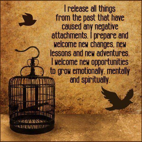 Spell of releasing negativity