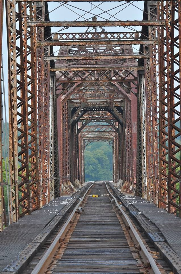 16 best clarksville tn images on pinterest cumberland river railroad track bridge that runs over the cumberland river sciox Image collections