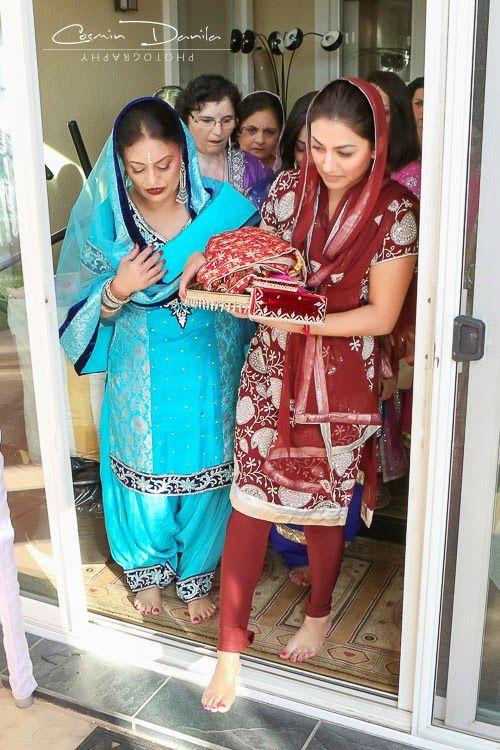 Ren & Ram - Punjabi Wedding Rituals in San Jose, California | Cosmin Danila Photography - I See Beautiful People