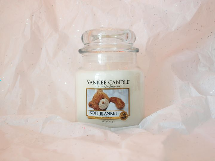 bougie Yankee Candle soft blanket couverture douce