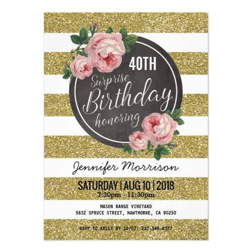 381 best Rose Gold Birthday Party images on Pinterest Gold - best of sample invitation letter debut party