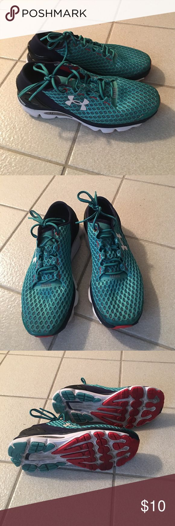 Under Armour Gemini Running Shoes Under Armour Gemini Running shoes, slightly worn Under Armour Shoes Athletic Shoes