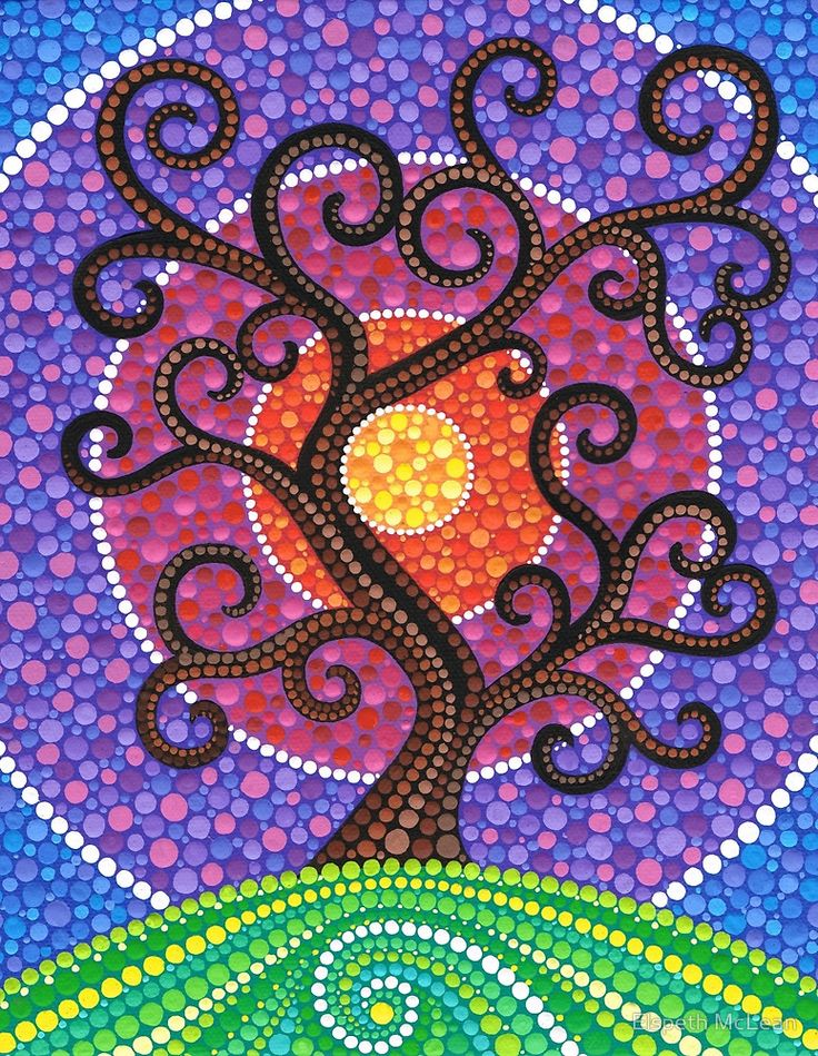 """Spiralling Tree of Life"" by Elspeth McLean"