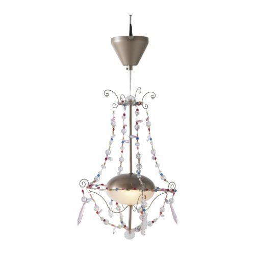 MINNEN Pendant lamp IKEA Gives a soft mood light.  £14