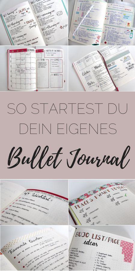 Inspirational Du willst ein eigenes Bullet Journal Erfahre hier was du daf r brauchst und erstelle dir