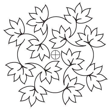 Fall Foliage Block - Digital UE-FALL-BLK_Digital
