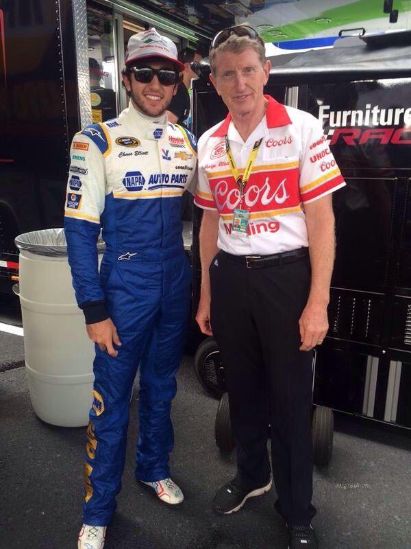 Chase and Bill Elliott.
