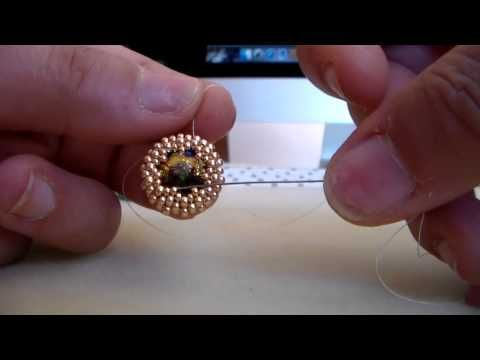 "Tutorial orecchini ""Passiflora"" - YouTube"