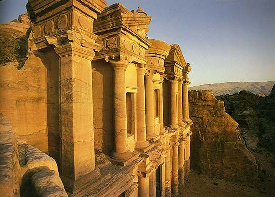 Al-Deir (The Monastery), Petra, Jordan
