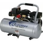 2.0 Gal. 3/4 HP Ultra Quiet and Oil-Free Aluminum Tank Air Compressor