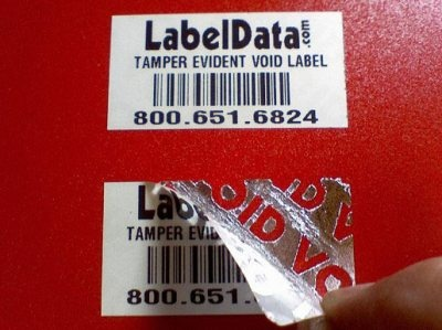 How void asset labels can help you protecting your office equipments.