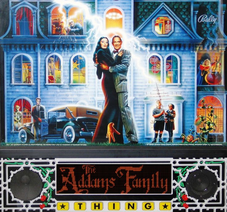 addams family pinball game - Google Search