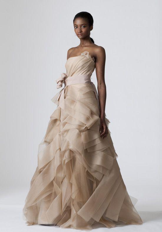 88 best Champagne wedding dresses images on Pinterest Wedding