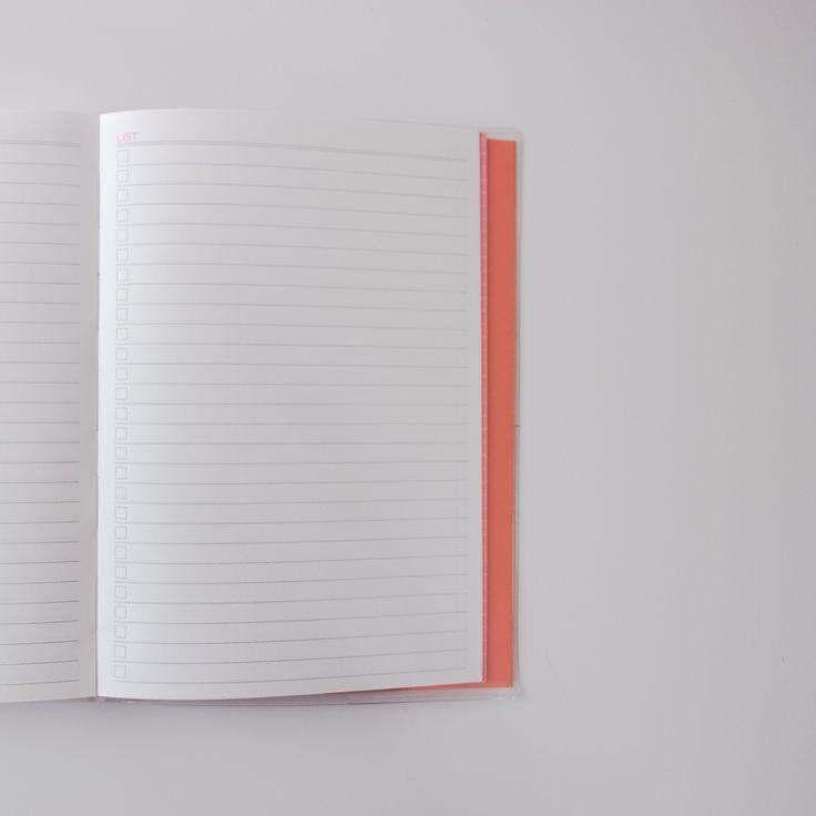 Agenda journalier A5. Planner perpétuel. Un jour sur une page. - Planners