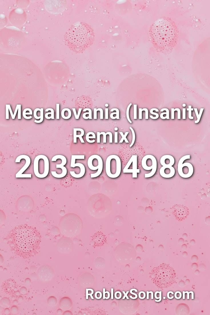 Megalovania Insanity Remix Roblox Id Roblox Music Codes Roblox Remix Songs