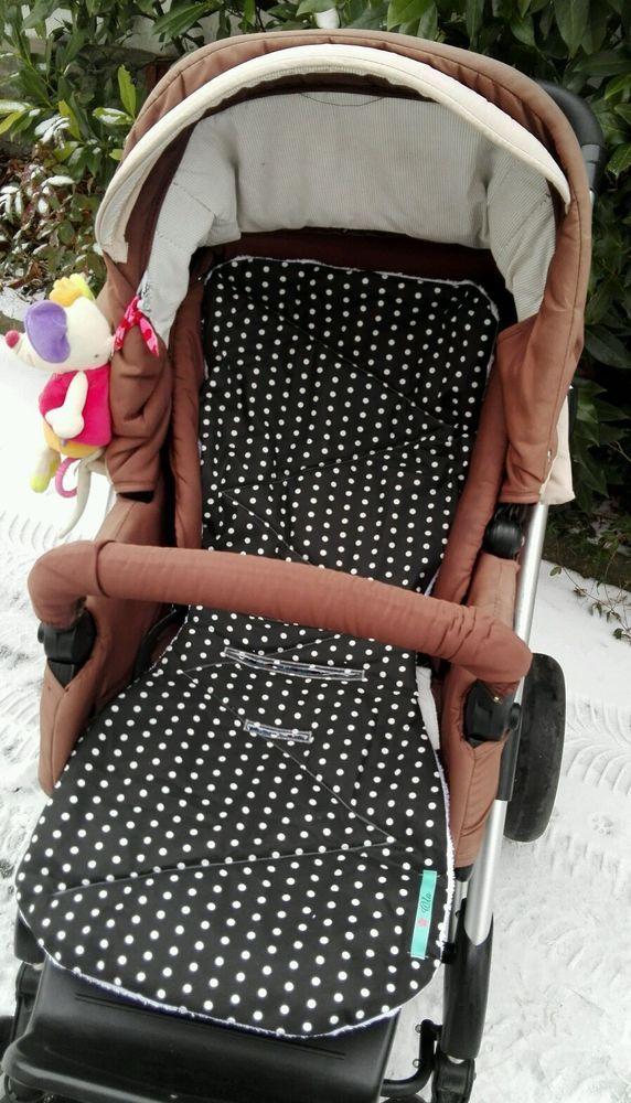 Kinderwagen Auflage Winter/ Sommer Bezug NEU Maßgeschneidert In Baby,  Kinderwagen